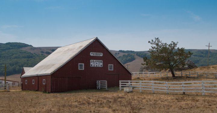Lungo la strada che percorre la Cileno Valley si trovano numerosi ranch