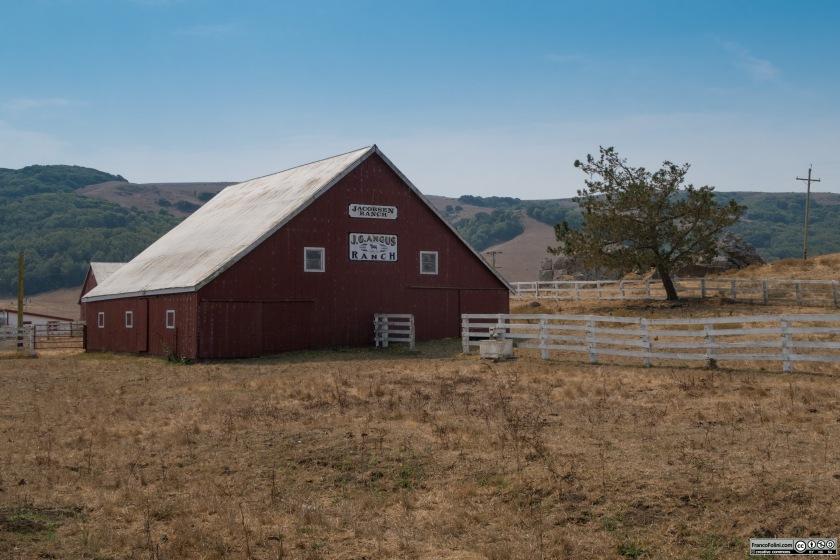Lungo la strada che percorre la Chileno Valley si trovano numerosi ranch