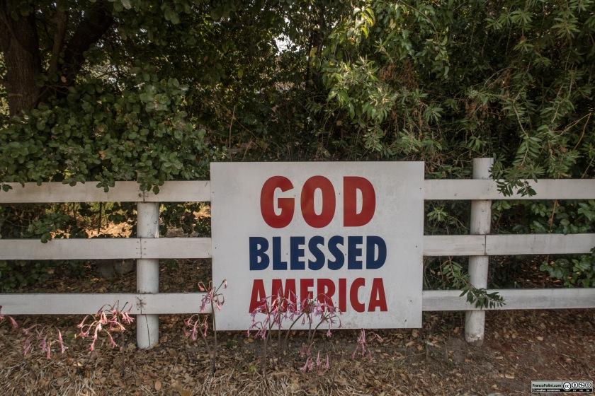 Nazionalismo e patriottismo nelle aree rurali della California