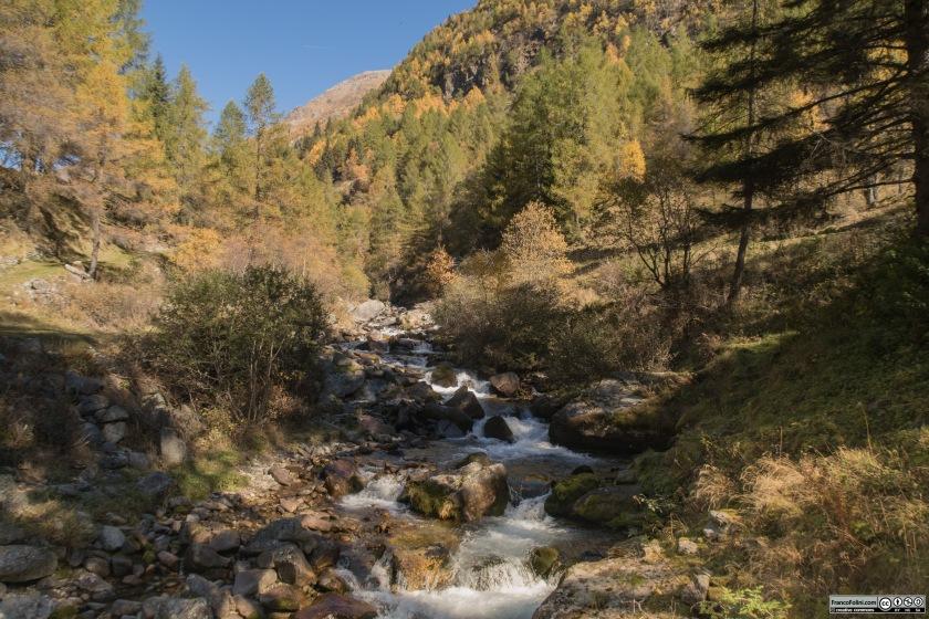 Il torrente valfontana è ricco di acque
