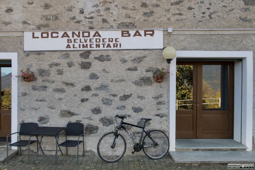 La famosa Locanda belvedere, nota perché qui si cucina una favolosa polenta crupa, specialità locale.
