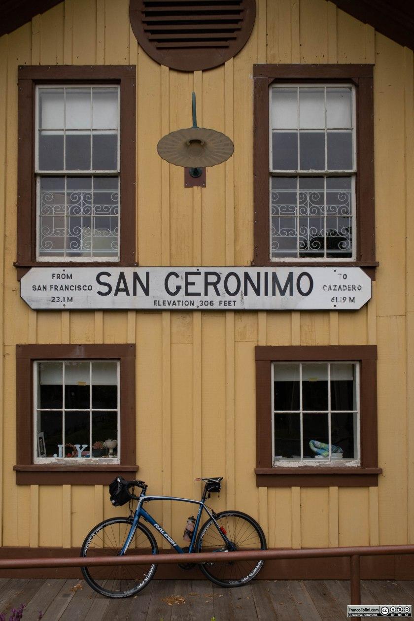 La piccola località di San Geronimo.