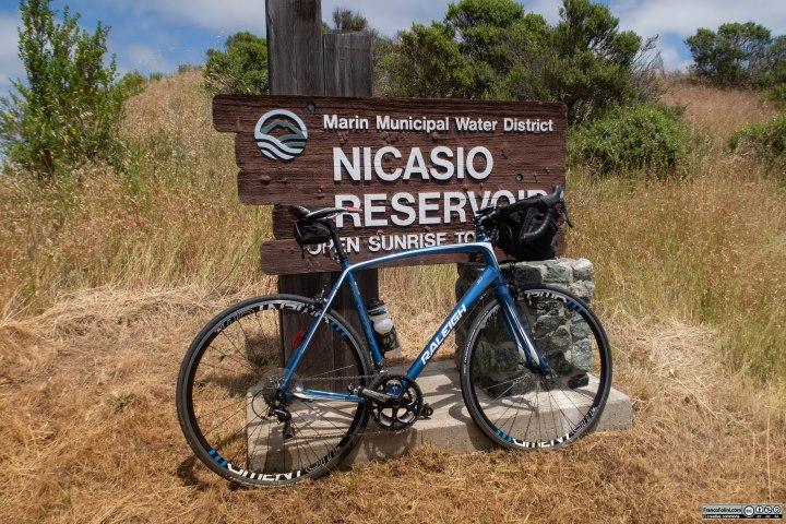 Sul bordo del Nicasio Reservoir