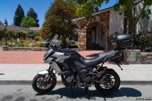 Sosta di viaggio a Santa Cruz, cittadina universitaria e località' turistica lungo la costa del Pacifico.