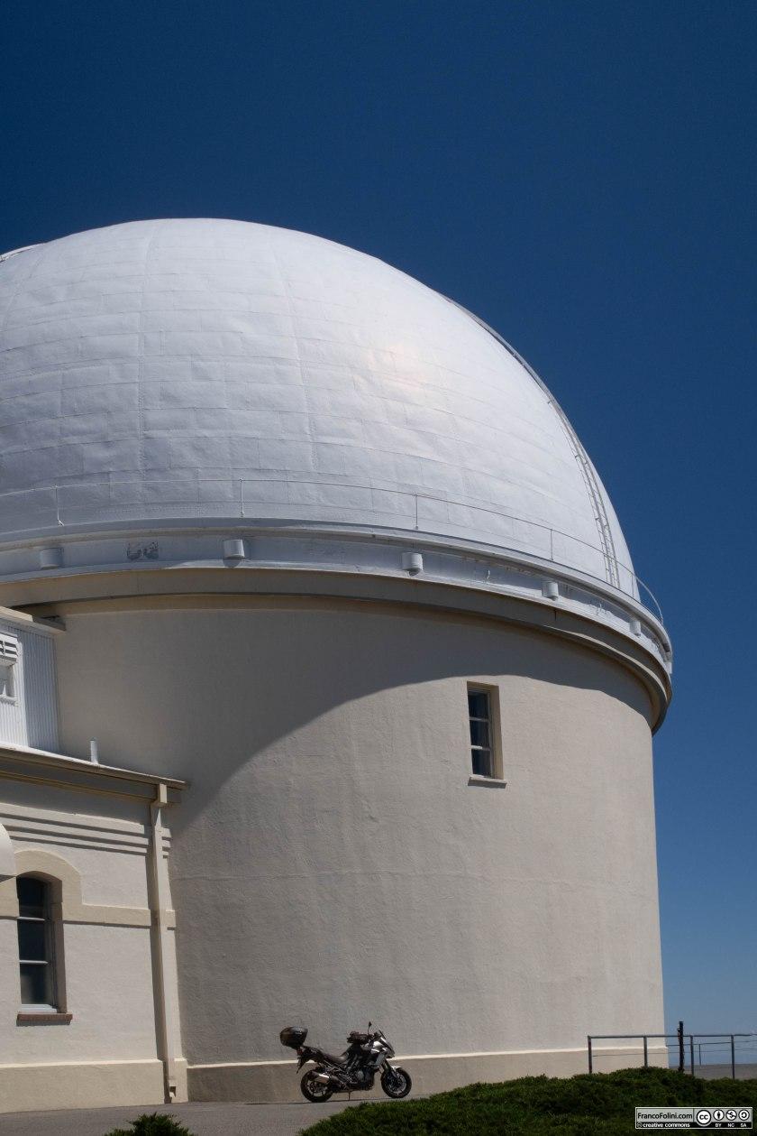 L'osservatorio astronomico Lick, aperto nel 188, si erge sulla vetta del Mount Hamilton sopra la città di San Jose.