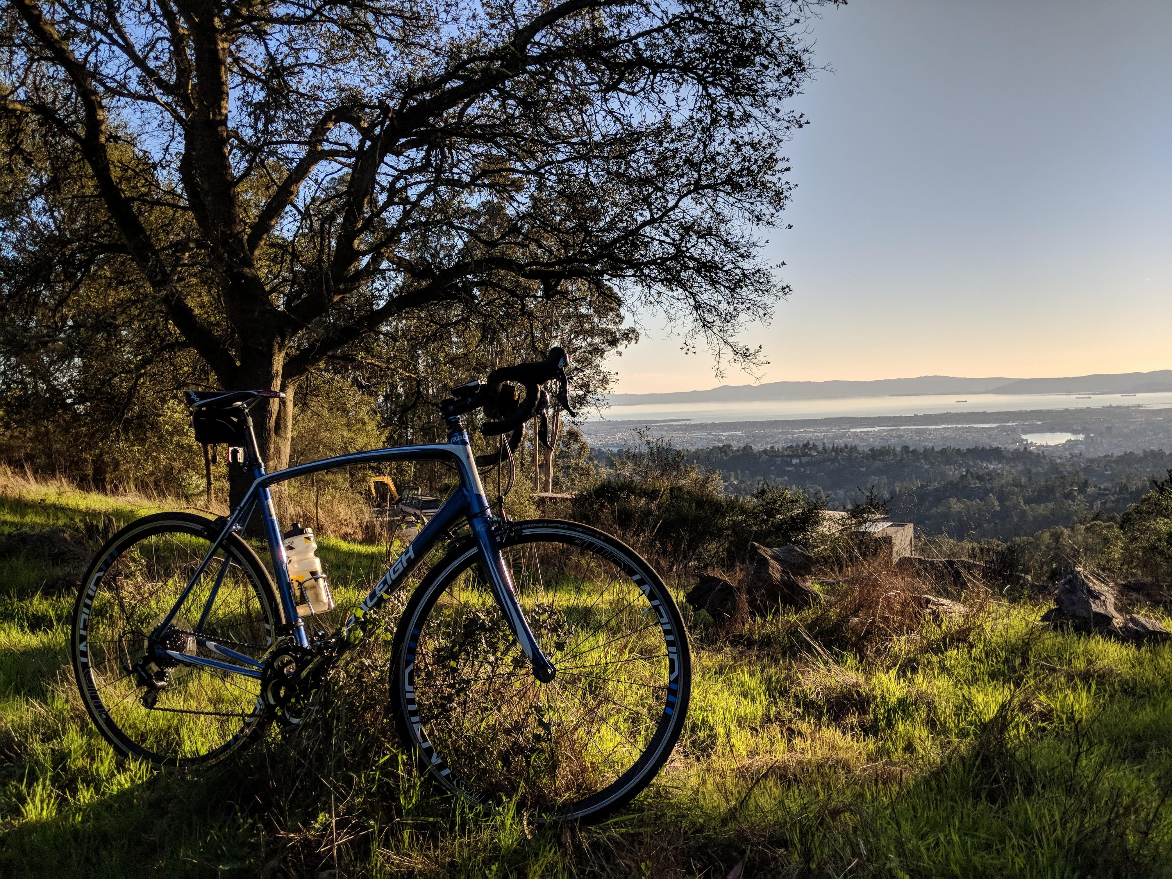 Le colline di Berkeley in bici