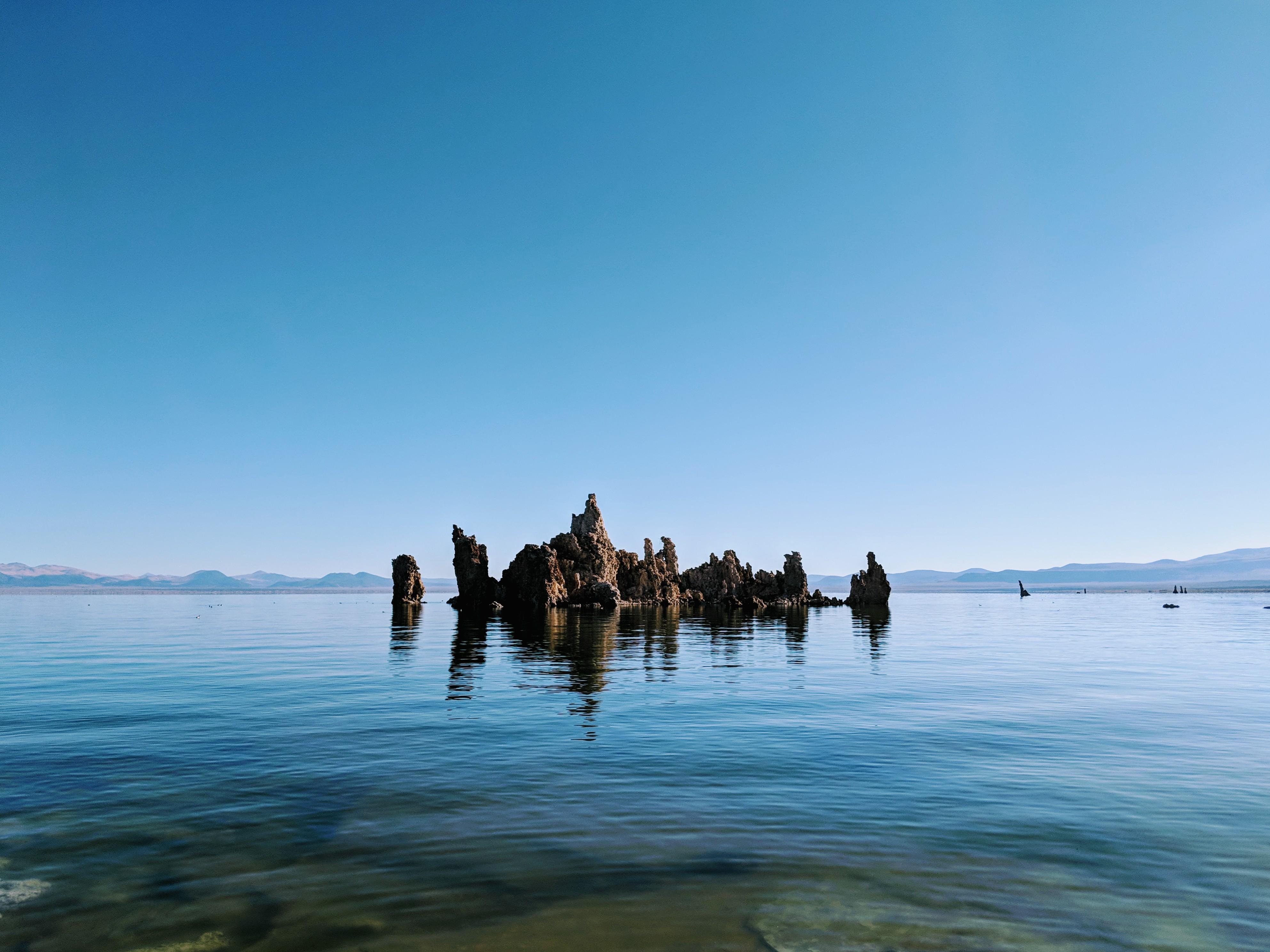Una delle più classiche viste delle torri di tufo del Mono Lake.