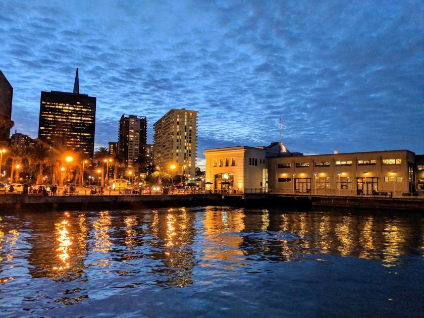 View from the Embarcadero, San Francisco