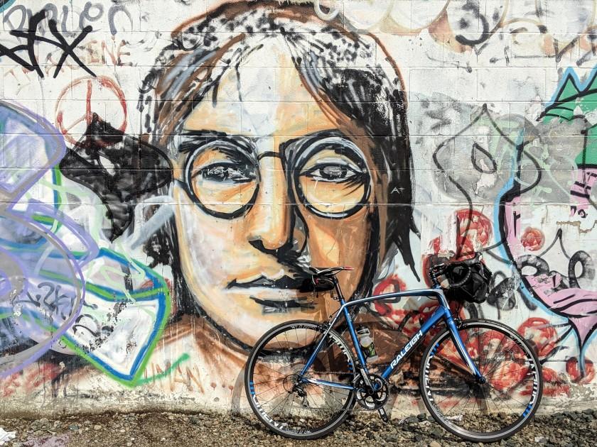 John Lennon Mural, Berkeley, CA