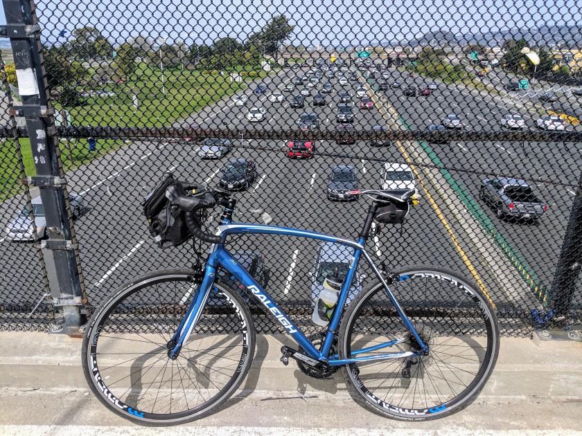 Crossing Highway 80, Berkeley, CA