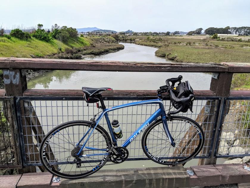 Canal along the San Francisco Bay, Richmond, CA