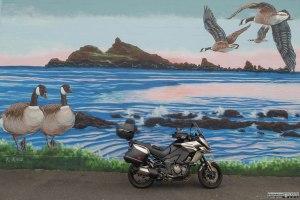 Mural in Crescent City, CA