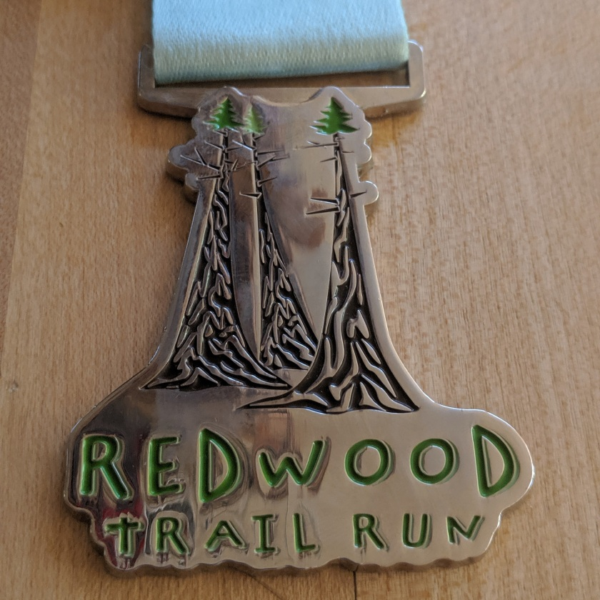 Redwood Trail Run Half-Marathon 2019