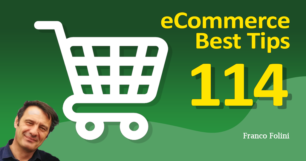 Best eCommerce Tip #114
