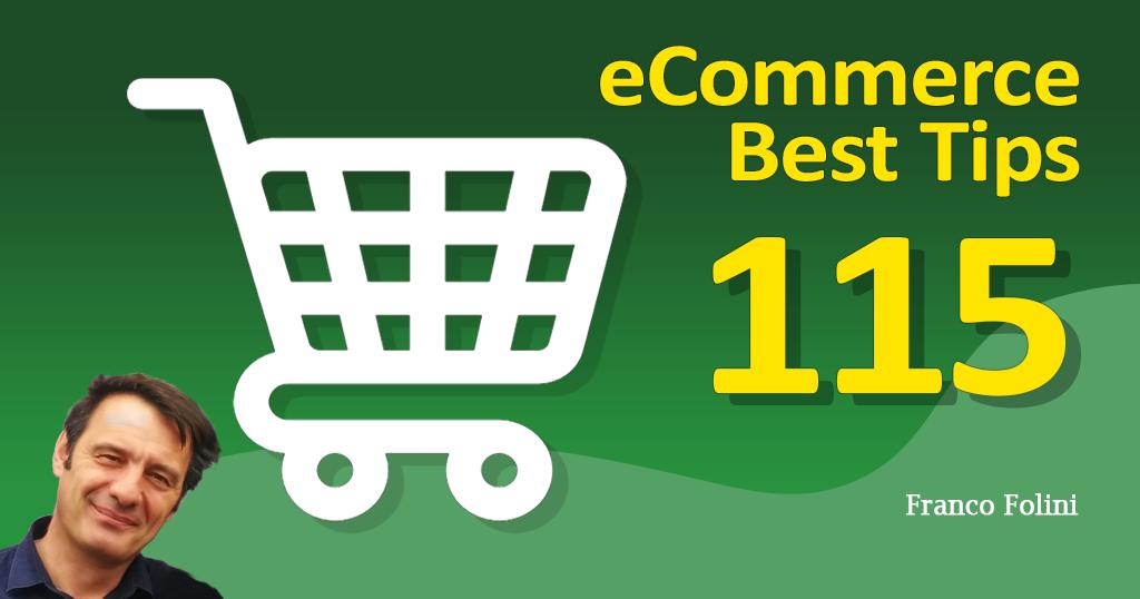 Best eCommerce Tip #115