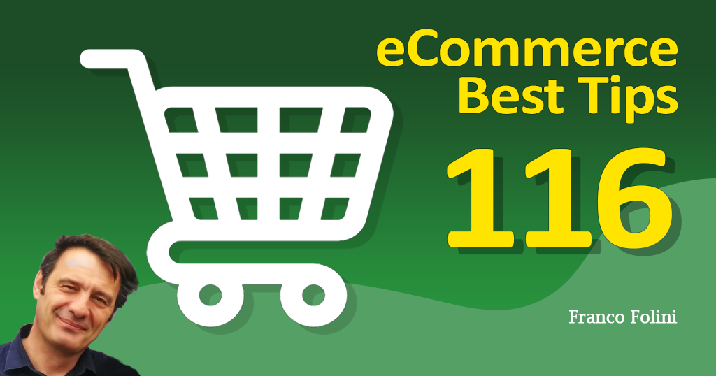 Best eCommerce Tip #116