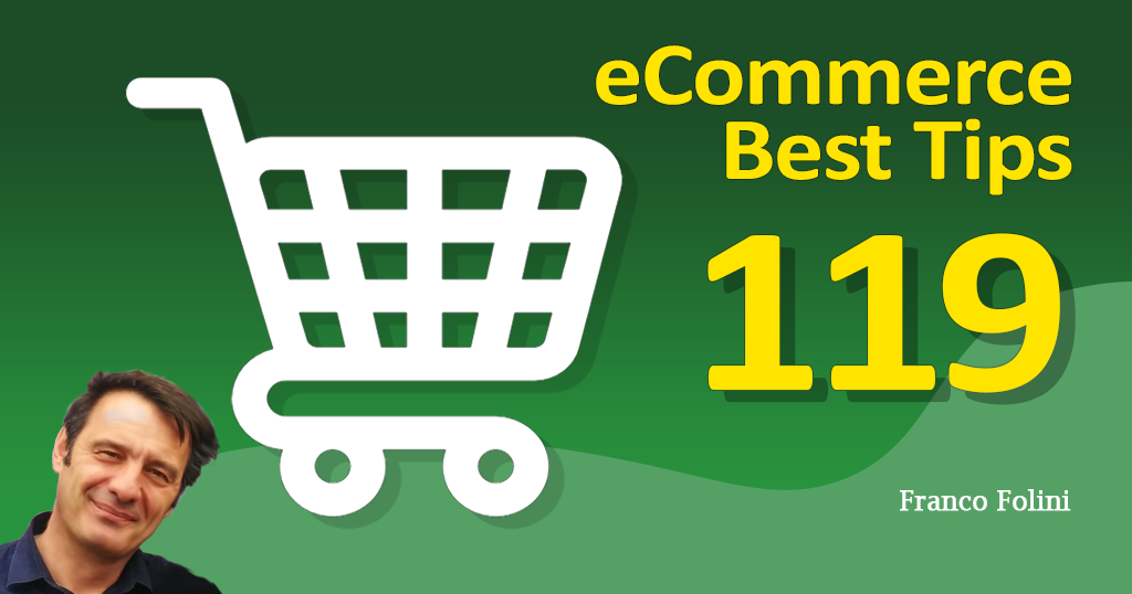 Best eCommerce Tip #119