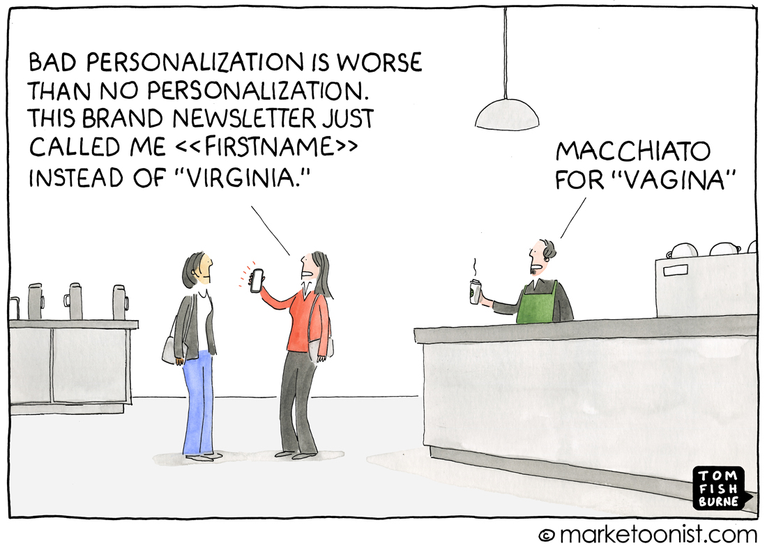 eCommerce: Bad personalization can be really bad for your business!