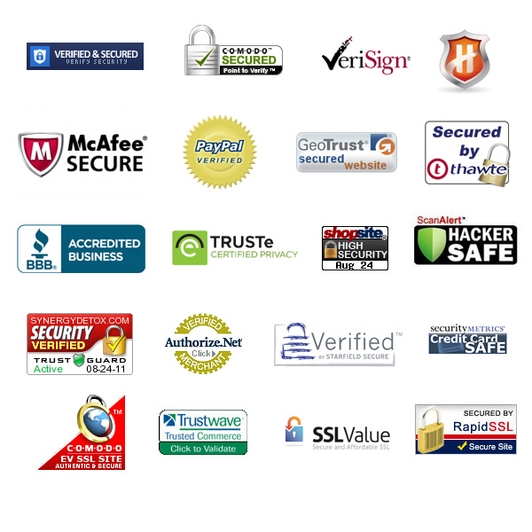 The most popular security seals for eCommerce