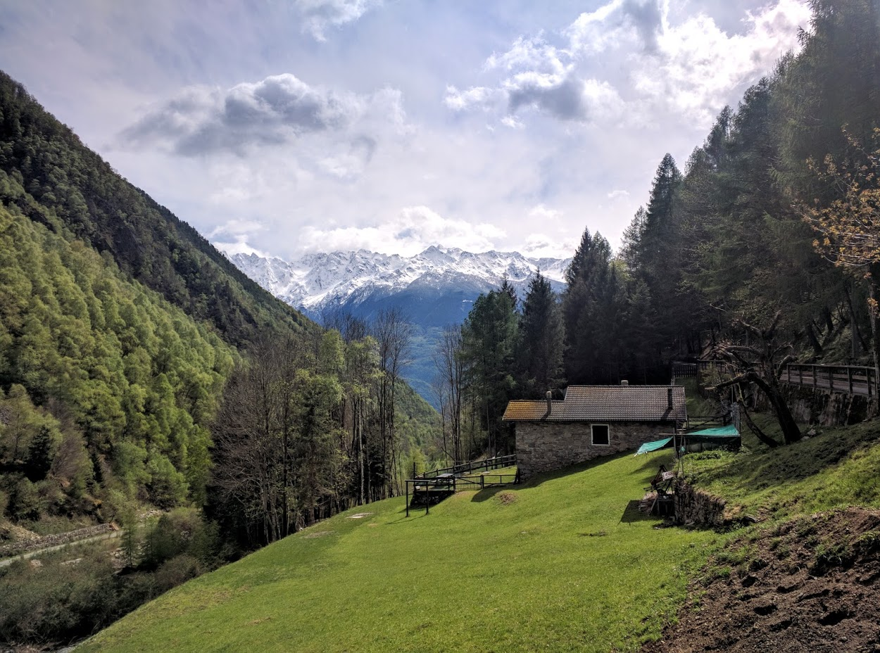 #IoCorroQui: Correre in Valtellina