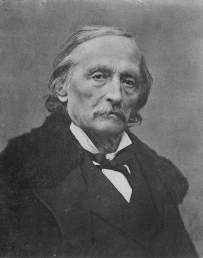 """Cesare Ambrogio Cantù (Brivio, 5 dicembre 1804 – Milano, 11 marzo 1895) autore del volume """"Il Sacro Macello di Valtellina""""."""