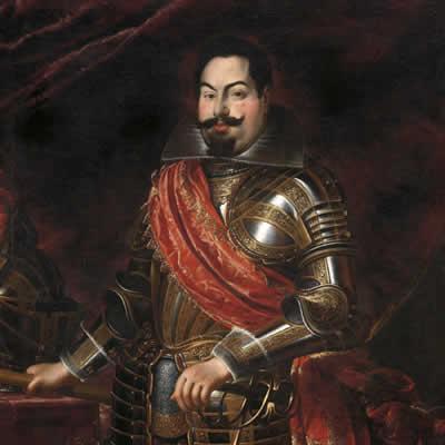 Gómez Suárez de Figueroa y Córdoba, conosciuto come il Gran Duca di Feria, governatore spagnolo di Milano.