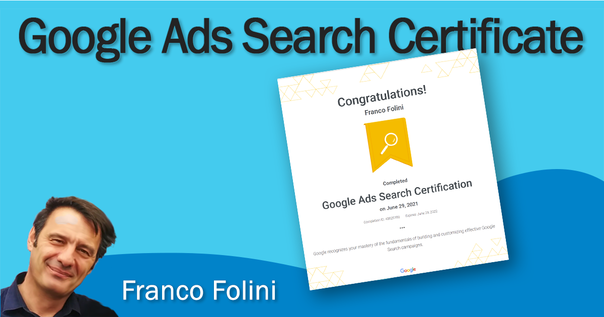 Why the Google Ads Search Certification is Important