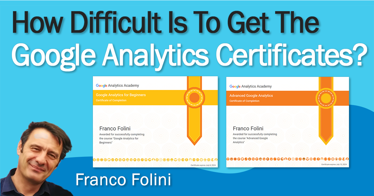 How Difficult Is To Get the Google Analytics Certification?